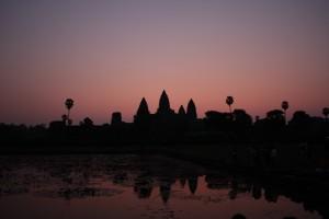 Angkor Wat i soloppgong